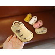 baratos Sapatos de Menino-Para Meninos Sapatos Pele Verão Primeiros Passos Sandálias para Bege / Amarelo / Rosa claro
