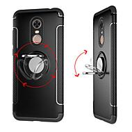 billiga Mobil cases & Skärmskydd-fodral Till Xiaomi Redmi 5 Plus / Redmi 5 Ringhållare Skal Enfärgad Hårt PC för Redmi Note 5A / Xiaomi Redmi Note 4X / Xiaomi Redmi Note 4 / Xiaomi Redmi 4A