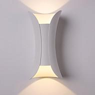 billige Vegglamper-Kreativ LED / Moderne / Nutidig Vegglamper Stue / Soverom Metall Vegglampe 110-120V / 220-240V 3W