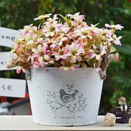 billige Kunstig Blomst-Kunstige blomster 1 Afdeling Rustikt Krysantemum Bordblomst