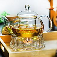 Χαμηλού Κόστους Κορυφαία σε Πωλήσεις-1pc Γυαλί Καφές και τσάι Heatproof ,  20.5*9*13.5cm
