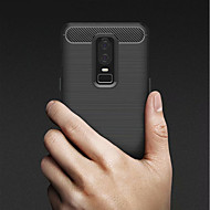 billiga Mobil cases & Skärmskydd-fodral Till OnePlus OnePlus 6 / OnePlus 5T Stötsäker / Ultratunt Skal Enfärgad Mjukt TPU för OnePlus 6 / One Plus 5 / OnePlus 5T