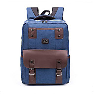 tanie Plecaki-Męskie Torby Tkanina Oxford plecak Zamek Dark Blue / Light Purple / Granatowy