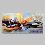 cheap Top Sellings-Oil Painting Hand Painted - People / Religious Modern Canvas