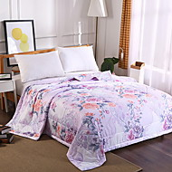 billiga Täcken och överkast-Bekväm - 1 st. Täcke Sommar Polyester Blommig