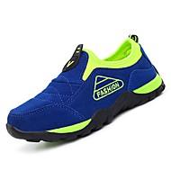 baratos Sapatos de Menino-Para Meninos Sapatos Borracha Primavera Conforto Mocassins e Slip-Ons para Verde / Azul / Azul Real