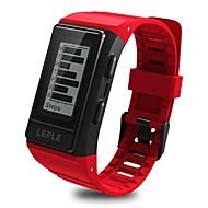 tanie Inteligentne zegarki-Inteligentne Bransoletka YY-CPS909 na Android 4.3 i nowszy / iOS 7 i nowsze Pulsometr / Pomiar ciśnienia krwi / Spalone kalorie / GPS / Ekran dotykowy Czasomierz / Stoper / Krokomierz / Powiadamianie