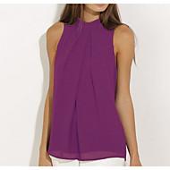 Grime Dame - Ensfarvet Bluse