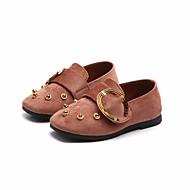 tanie Obuwie dziewczęce-Dla dziewczynek Obuwie Wyczeski Wiosna Comfort / Mokasyny Mokasyny i pantofle na Black / Różowy