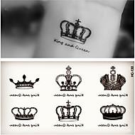 billiga Temporära tatueringar-10pcs Klistermärke romantisk Series Tatueringsklistermärken