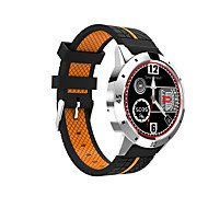 tanie Inteligentne zegarki-Inteligentny zegarek CW402 na iOS / Android 4.3 i nowszy Pulsometr / Spalone kalorie / Odbieranie bez użycia rąk / Obsługa multimediów / Rejestr ćwiczeń Krokomierz / Powiadamianie o połączeniu