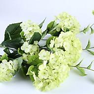 billige Kunstig Blomst-Kunstige blomster 1 Afdeling Rustikt Evige blomster Gulvblomst