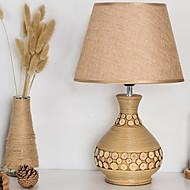 billige Lamper-Kunstnerisk Dekorativ Bordlampe Til Stue / Soverom Tre