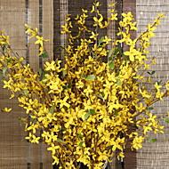 billige Kunstig Blomst-Kunstige blomster 9 Afdeling Bryllup Smørblomster Gulvblomst
