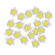 billige belysning Tilbehør-ZDM® 20pcs Høyspennings LED Bulb Accessory Led Brikke Aluminium / Pure Gold Wire LED for DIY LED Flood Light Spotlight 10W
