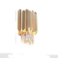 billige Vegglamper-QIHengZhaoMing Krystall LED / Moderne / Nutidig Vegglamper Stue / Leserom / Kontor Metall Vegglampe 110-120V / 220-240V 3W