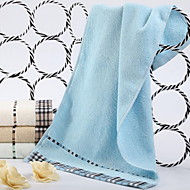 billiga Handdukar och badrockar-Överlägsen kvalitet Tvätt handduk, Enfärgad Polyester / Bomull Blandning 1 pcs