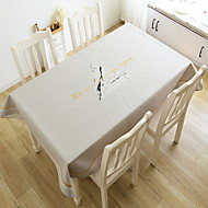 billige Duker-Moderne PVC Kvadrat Duge Mønstret Borddekorasjoner 1 pcs
