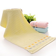 billiga Handdukar och badrockar-Överlägsen kvalitet Tvätt handduk, Linjer / vågor Polyester / Bomull Blandning / Ren bomull 1 pcs