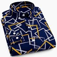 Herre - Stribet Basale Skjorte