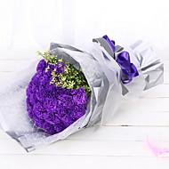 Χαμηλού Κόστους Ψεύτικα Λουλούδια-Ψεύτικα λουλούδια 1 Κλαδί Λουλούδια Γάμου Γαρύφαλλο Λουλούδι για Τραπέζι