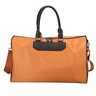 billige Rejsetasker-Oxfordtøj / polyester Rejsetaske Lynlås for udendørs Forår sommer Sort / Gul