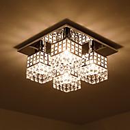 رخيصةأون -SL® تركيب السقف المدمج ضوء محيط مطلي معدن كريستال 110-120V / 220-240V لا يشمل لمبات / E26 / E27