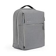 billige Computertasker-Lærred Laptoptaske Lynlås for Formel Efterår vinter Sort / Mørkeblå / Grå