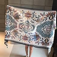 billiga Handdukar och badrockar-Överlägsen kvalitet Strand handduk, Geometrisk / Mönster Polyester / Bomull Blandning 1 pcs