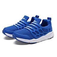 baratos Sapatos de Menino-Para Meninos Sapatos Malha Respirável Primavera Verão Conforto Tênis para Preto / Azul Escuro / Azul Real