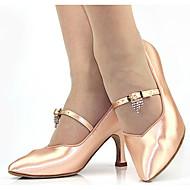 billige Moderne sko-Dame Moderne sko Silke Høye hæler Stiletthæl Dansesko Gull / Svart / Naken / Ytelse / Trening