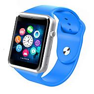 tanie Inteligentne zegarki-Inteligentny zegarek W8 na Android Spalone kalorie / Długi czas czuwania / Odbieranie bez użycia rąk / Ekran dotykowy / Kamera / aparat Stoper / Powiadamianie o połączeniu telefonicznym / Rejestrator