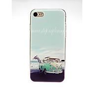 billiga Mobil cases & Skärmskydd-fodral Till Apple iPhone X / iPhone 7 Ultratunt / Mönster / Vackert Skal Landskap Mjukt TPU för iPhone X / iPhone 8 Plus / iPhone 8