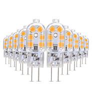 billige Bi-pin lamper med LED-YWXLIGHT® 10pcs 3W 200-300lm G4 LED-lamper med G-sokkel T 12 LED perler SMD 2835 Varm hvit / Kjølig hvit / Naturlig hvit 12V