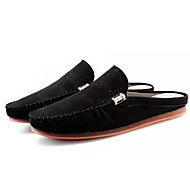 cheap Men's Clogs & Mules-Men's Shoes Cashmere Summer Light Soles Clogs & Mules Black / Dark Blue / Gray
