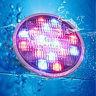 billiga Belysning-YouOKLight 1st 18 W Undervattensglödlampa Fjärrstyrd / Dekorativ RGB 24 V Simbassäng 18 LED-pärlor