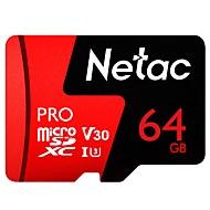 baratos Cartões de Memória-Netac 64GB cartão de memória UHS-II U3 V30