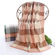 tanie Ręcznik kąpielowy-Najwyższa jakość Ręcznik kąpielowy, Kratka Czysta bawełna 1 pcs