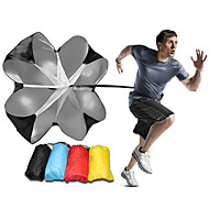 tanie Sprzęt i akcesoria fitness-Speed Chute - Resistance Spring Trainer Z 1 pcs Poliester 3D, 25-35 kg odporności Trening siłowy, Trening oporowy, Trenerzy sportowi Dla Fitness / Piłka nożna / Bieganie