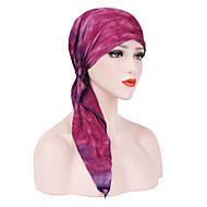 สำหรับผู้หญิง ลายบล็อคสี พื้นฐาน / วันหยุด - หมวกปีกกว้าง
