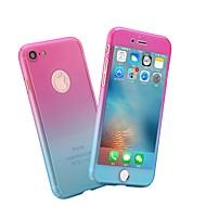 billiga Mobil cases & Skärmskydd-fodral Till Apple iPhone X / iPhone 8 Frostat Fodral Marmor / Färggradient Hårt PC för iPhone X / iPhone 8 Plus / iPhone 8