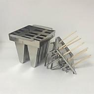 billige Bakeredskap-Bakeware verktøy Rustfritt Stål Kreativ Kjøkken Gadget / GDS Is / For Iskrem Dessertverktøy 1pc