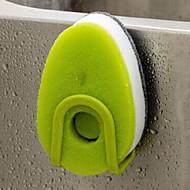 baratos Acessórios de Limpeza de Cozinha-Cozinha Produtos de limpeza Esponja Escova e Pano de Limpeza Simples 3pçs
