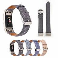 billiga Smart klocka Tillbehör-Klockarmband för Fitbit Blaze Fitbit Läderloop Tyg Handledsrem