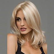 Parrucche sintetiche Ondulato Stile Parrucca Biondo Capelli sintetici 20 pollice Per donna Resistente al calore / Riga al centro Parrucca Medio Parrucca naturale