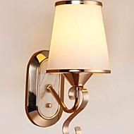 billige Vegglamper-Anti-refleksjon Rustikk / Hytte Vegglamper Soverom Metall Vegglampe 220-240V 40W