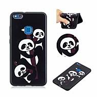 billiga Mobil cases & Skärmskydd-fodral Till Huawei P10 Lite Mönster Skal Panda Mjukt TPU för P10 Lite