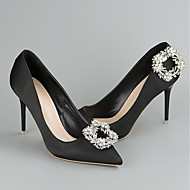 cheap Shoes Accessories-2pcs Rhinestones Decorative Accent Women's Spring Wedding / Vacation Silver