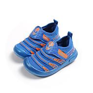 baratos Sapatos de Menino-Para Meninos Sapatos Com Transparência / Couro Ecológico Primavera Verão Mocassim Mocassins e Slip-Ons Caminhada para Infantil Preto / Vermelho / Azul
