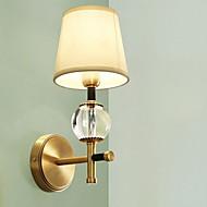 baratos Arandelas de Parede-Antirreflexo Retro Luminárias de parede Sala de Estar / Corredor Metal Luz de parede 220-240V 40 W